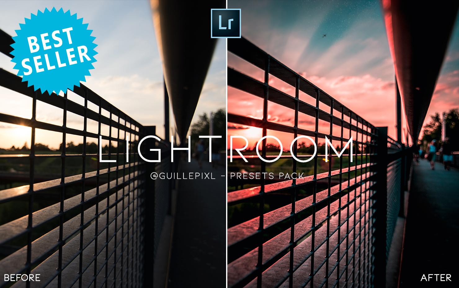 @guillepixl 15 BEST SELLER Mobile + Desktop Lightroom Presets Bundle