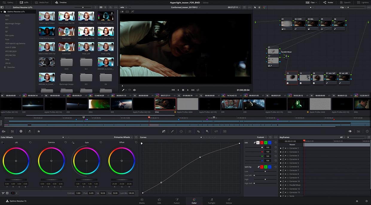Davinci Resolve 15 video editing software release