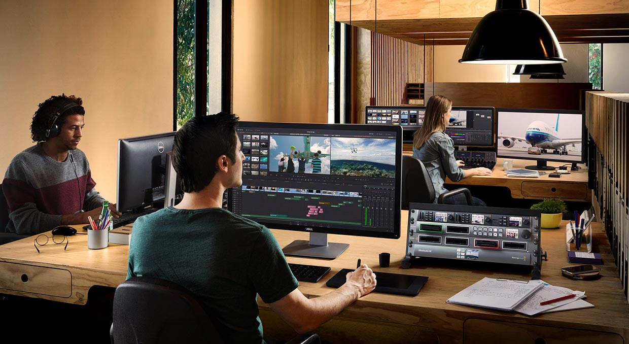 davinci resolve 15 blackmagic design media
