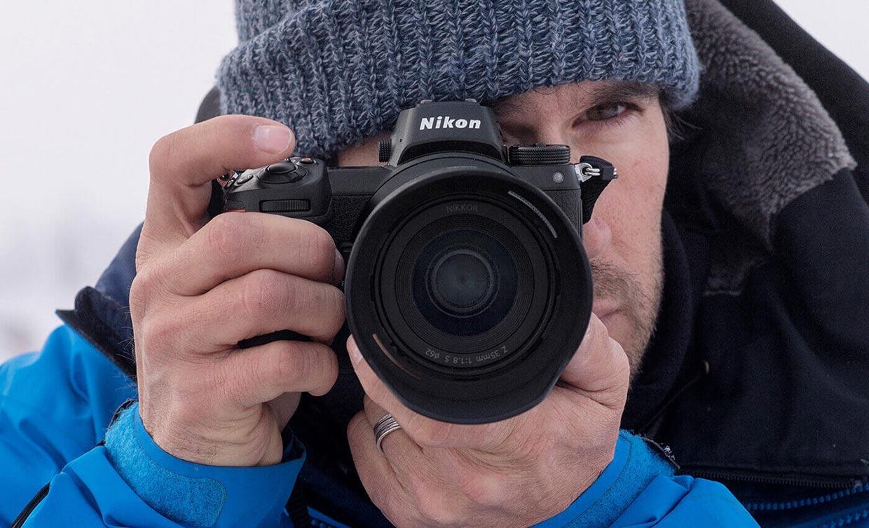 Nikon Z 7 Full-Frame Mirrorless Camera body and ergonomics.