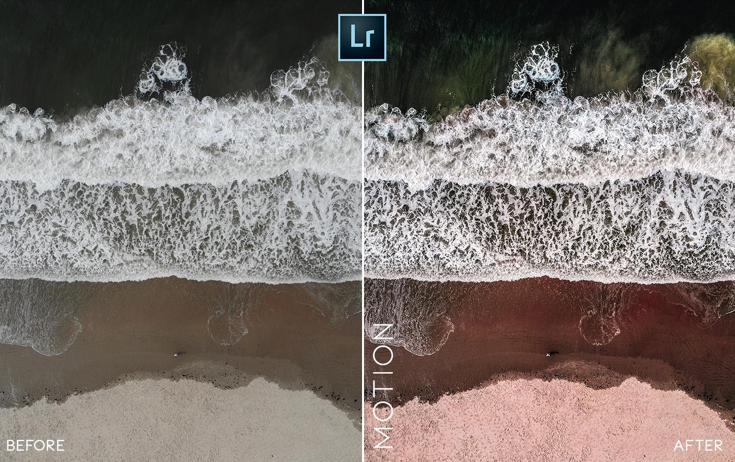 ocean water lr preset mobile