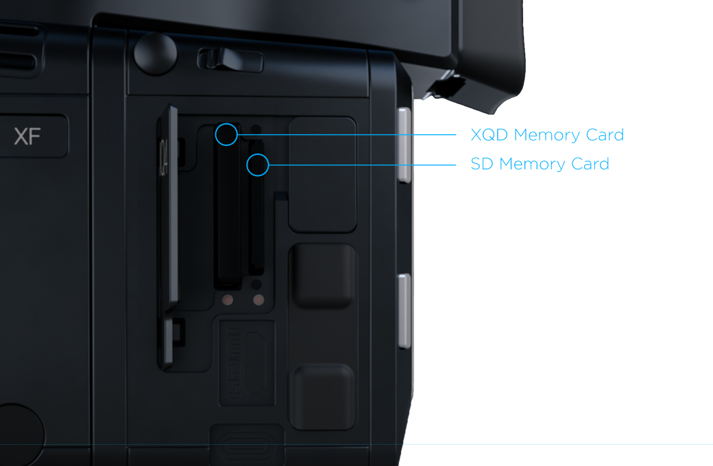 dual storage phase one iq4 camera