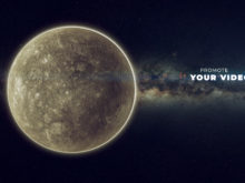 solar system science video template