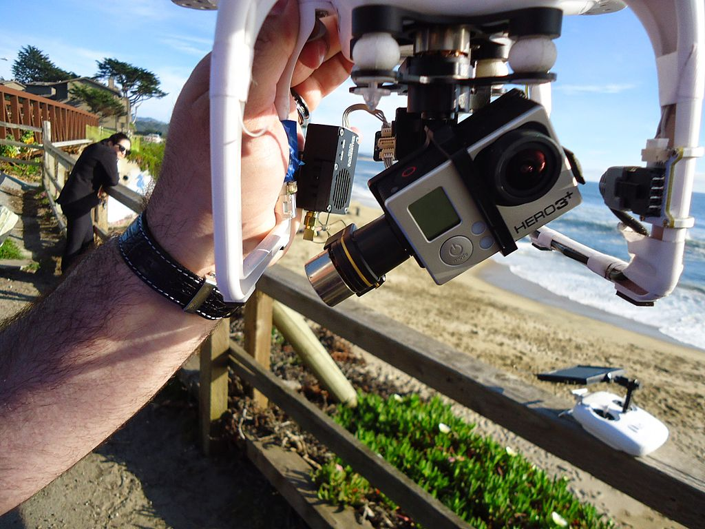 drone camera lenses and special gear