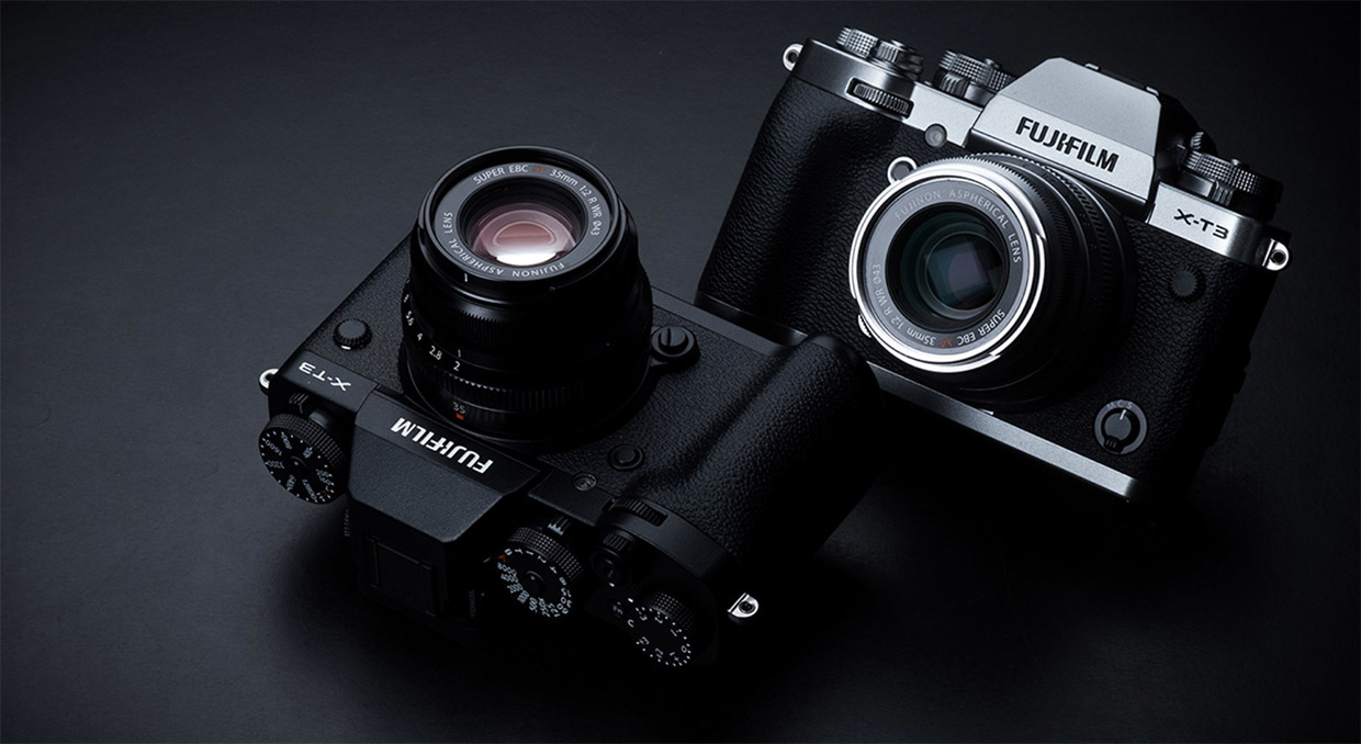 Fujifilm X-T3 Mirrorless Camera with 4K/60fps Video