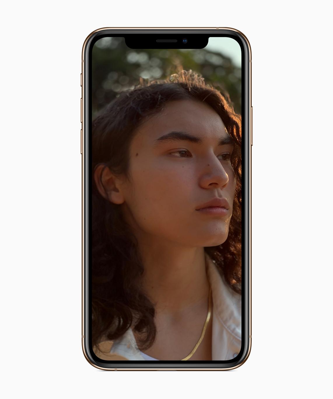 Apple iPhone Xs portrait mode depth control features