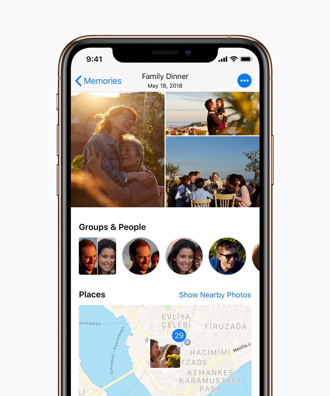 apple ios 12 photos features
