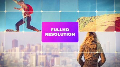 full hd slideshow ae template