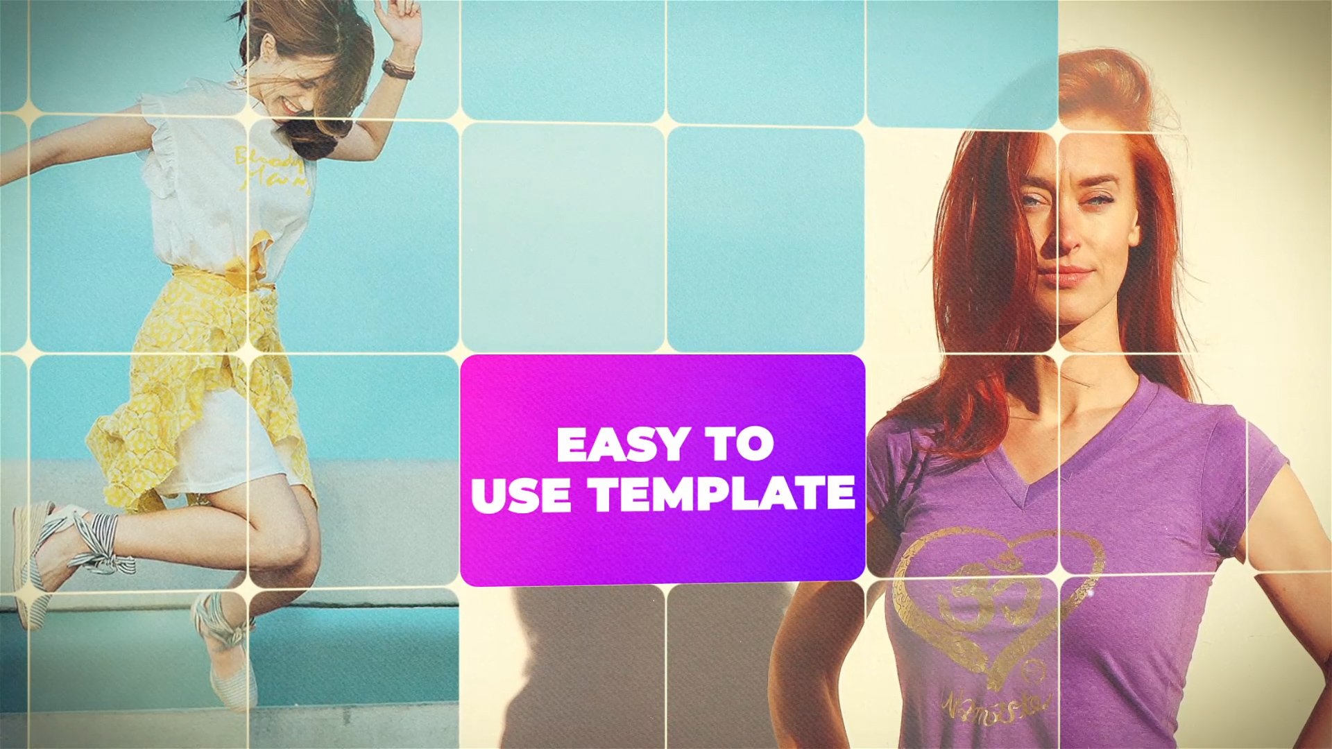 easy to use opener template for after effects