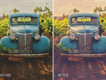 vintage automotive lr presets