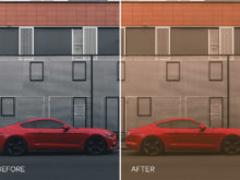 red mood lr presets for cars