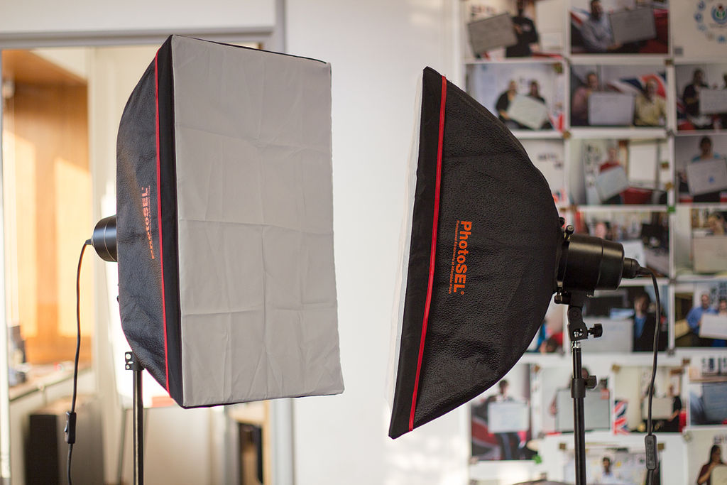 softbox studio lighting