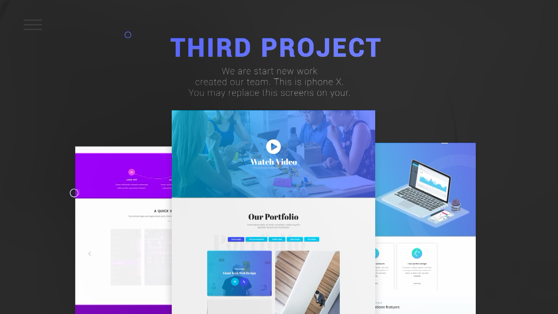 web project ae template