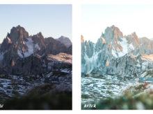 mountain view lr presets dolomites