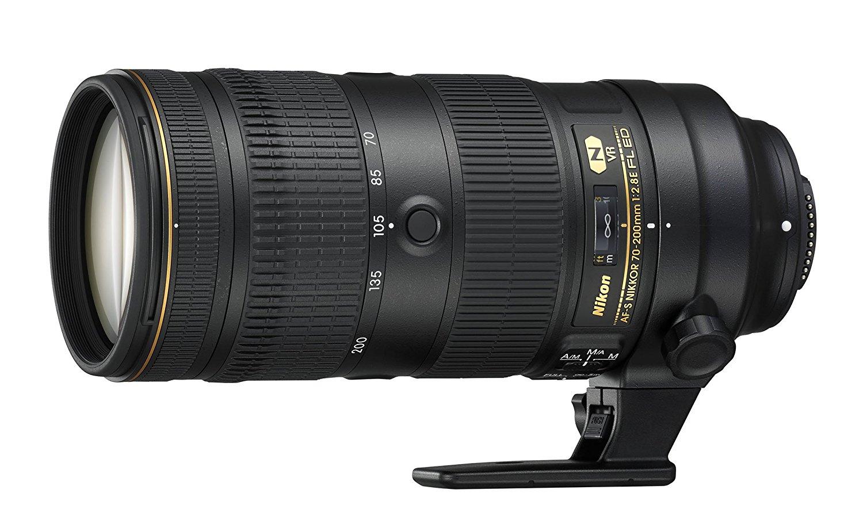 nikon nikkor 70-200mm f/2.8 lens