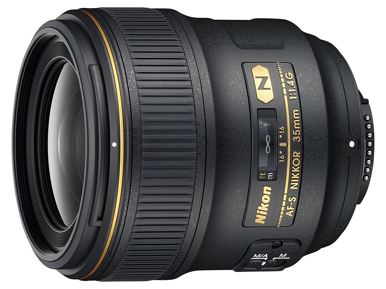 nikkor 35mm f/1.4 prime lens