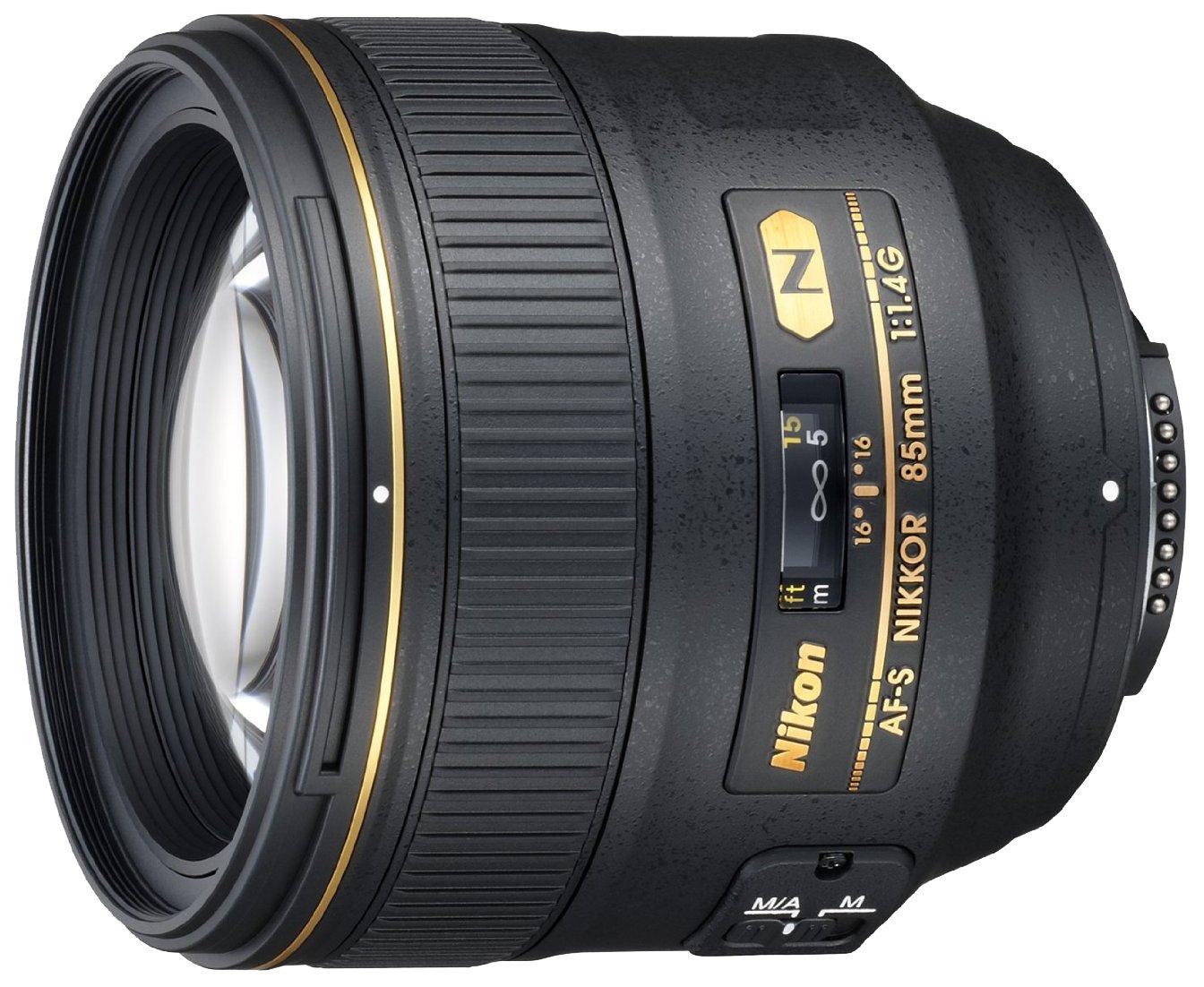 nikkor 85mm f1.4 lens