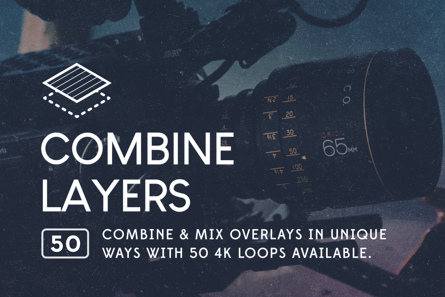 combine and mix layers of video overlays