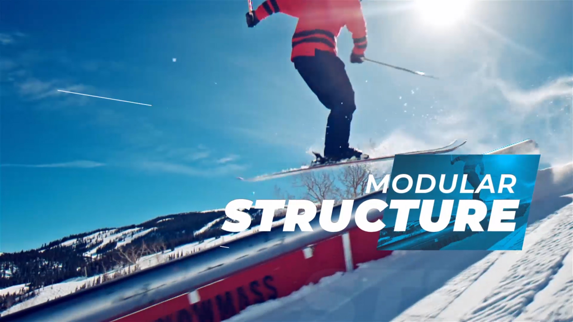 action sports video template for after effects
