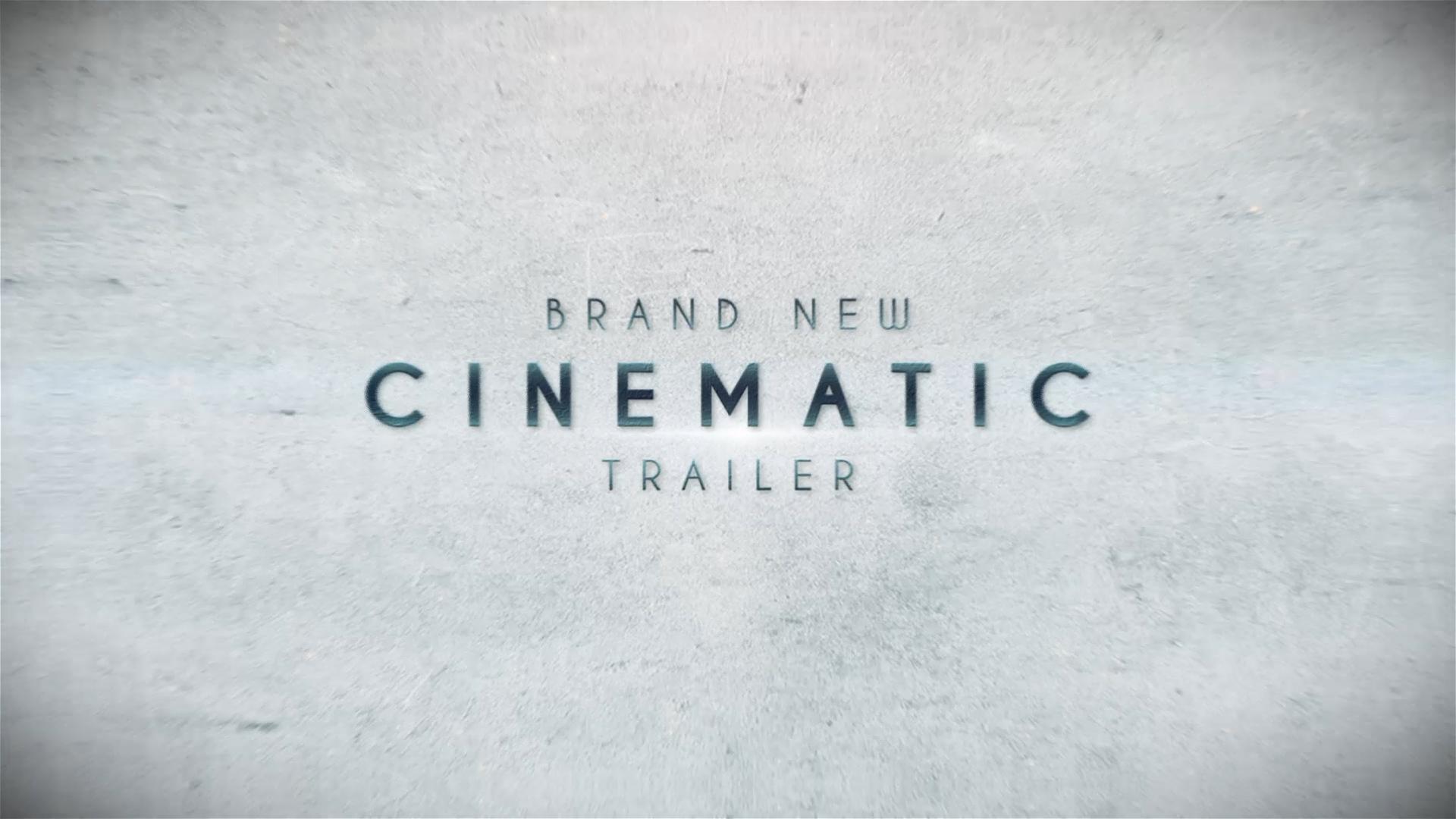cinematic trailer ae template