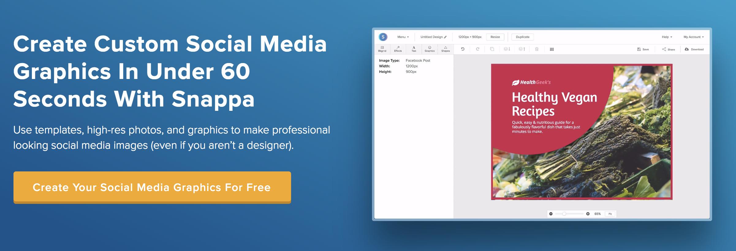 snappa social media image creator