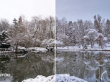 winter capture one style
