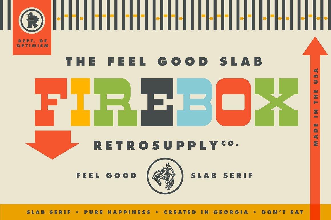 firebox slab serif font