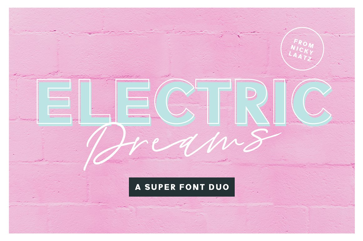 electric dreams font duo