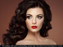 beauty retouching paint photoshop