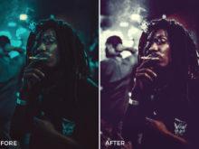 analog photo effects