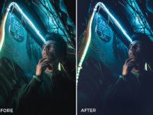 dark and moody film presets