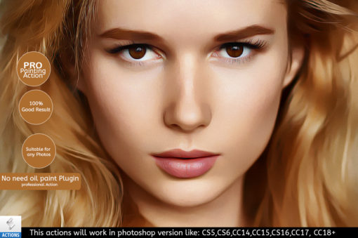 retouch painting ps action