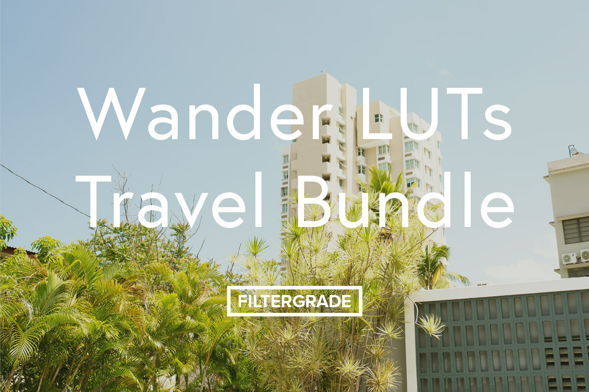 Wander LUTs Travel Bundle