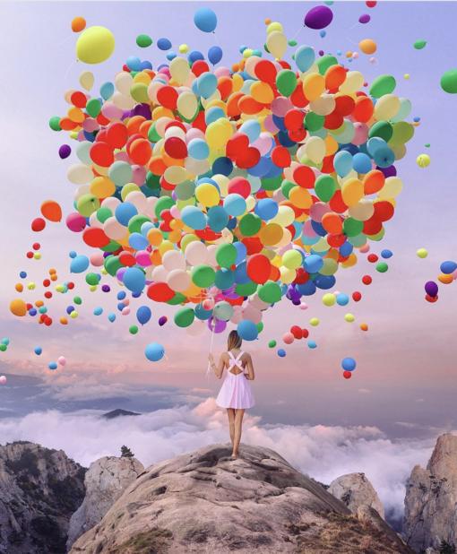 5 Nois7 Helium Balloon Photo Overlays - FilterGrade