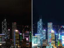 hong kong lightroom presets city