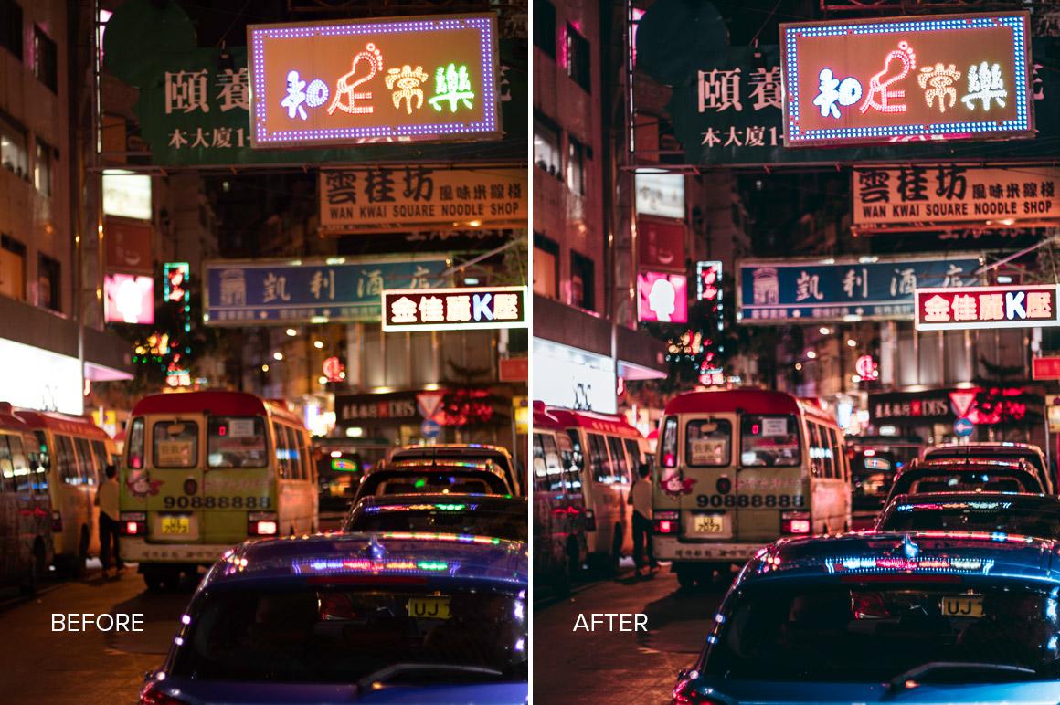 urban traffic photography hong kong