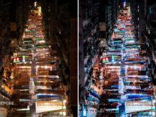 urban nighttime photography hong kong