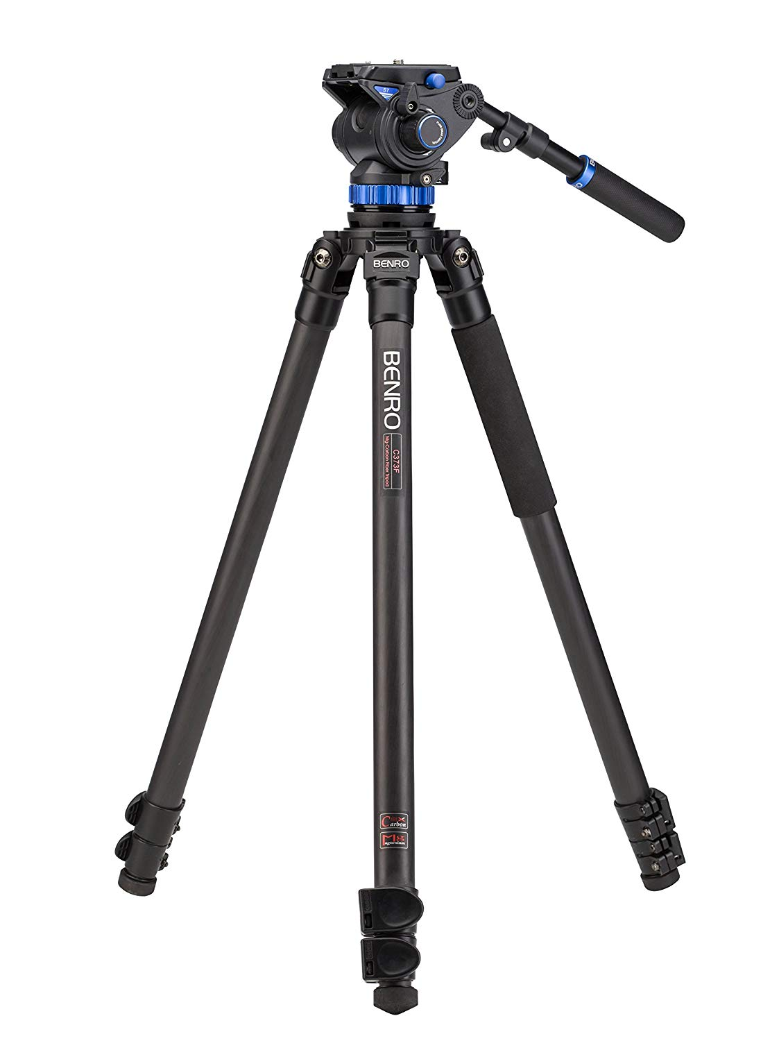 Benro S7 Carbon Fiber Video Tripod Kit (C373FBS7)