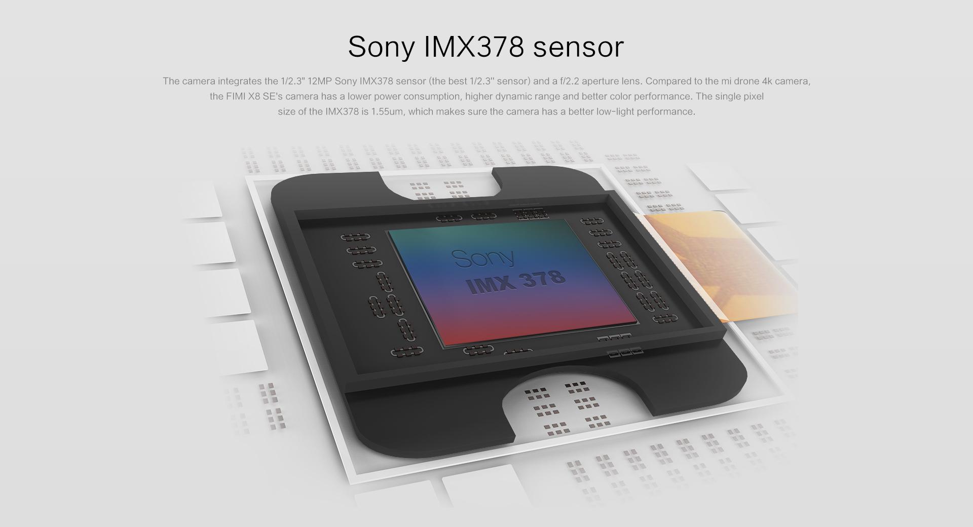 sony camera sensor for xiaomi drone