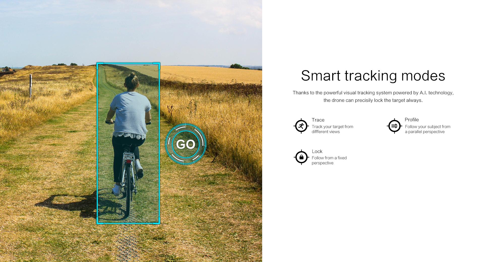 FIMI X8 SE smart tracking modes