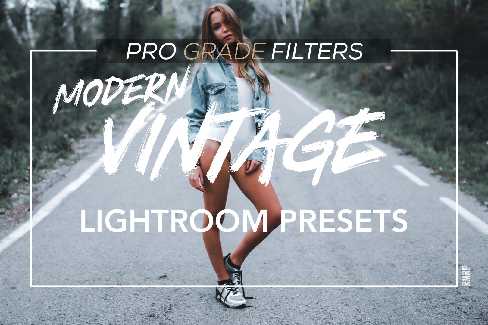 Pro Grade Filters modern vintage bundle with mobile presets