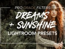 dreams and sunshine mobile lightroom presets