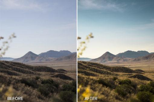 golden mountain lightroom preset