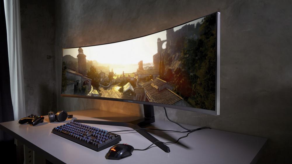 """samsung CRG9 49"""" Gaming Monitor"""