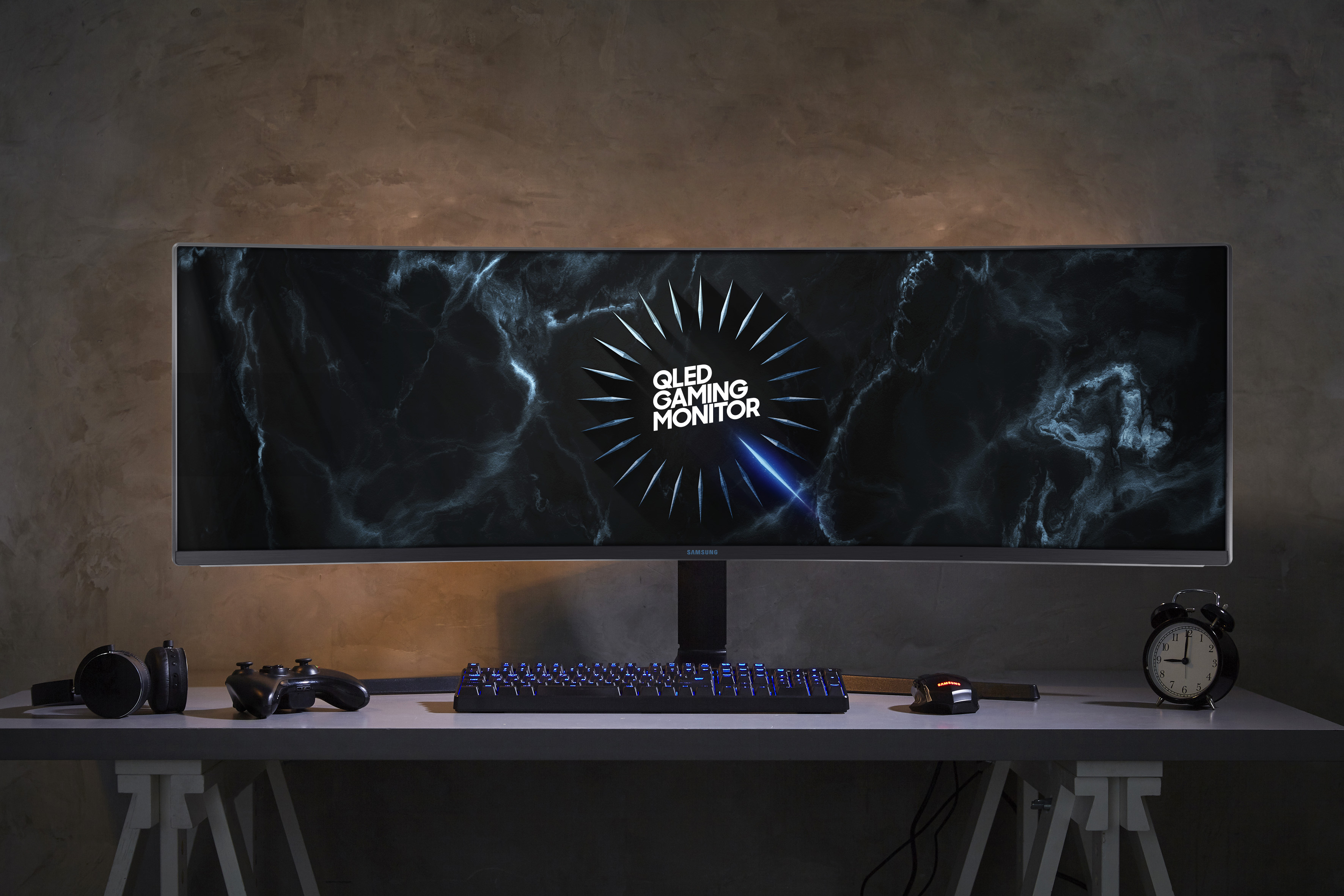 samsung new ultra-wide gaming monitor 2019