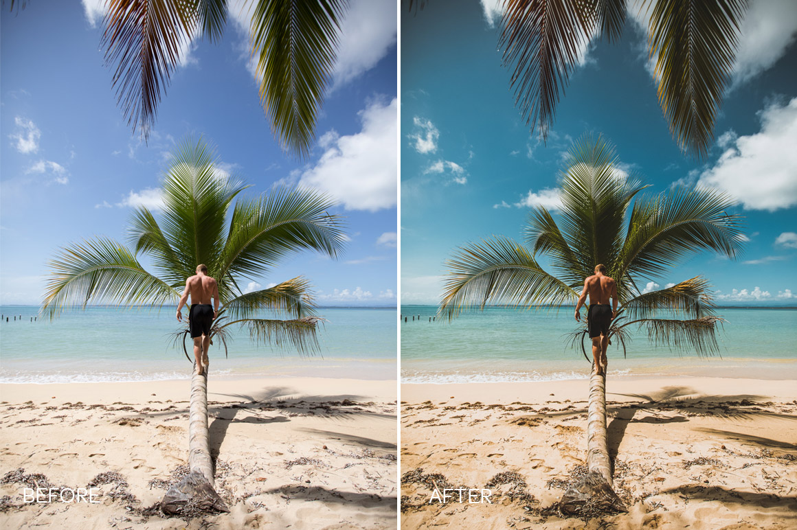 tropical lightroom presets