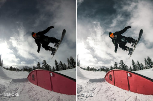 winter action sports lightroom presets