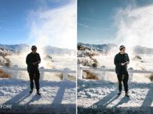 winter presets lr