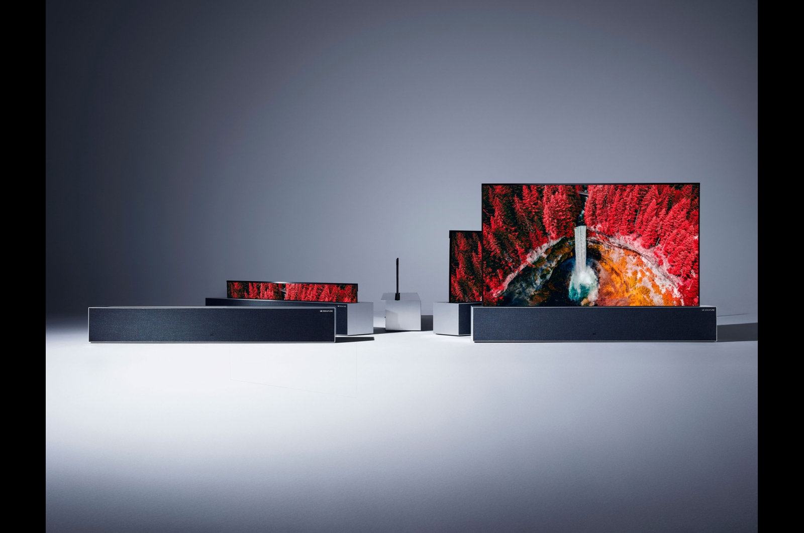 lg rollable oled tv lineup 2019
