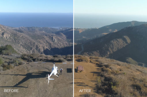 aerial drone luts helicopter